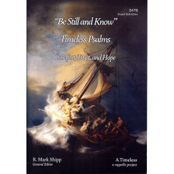 Be Still and Know - Songbooks SATB Shape Note