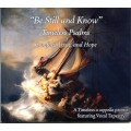 Be Still and Know  Timeless Psalms - CD