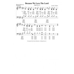 Because We Love the Lord - PDF Song Sheet