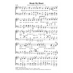 Break My Heart-PDF Song Sheet