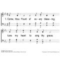 Come Thou Fount of Every Blessing-PPT