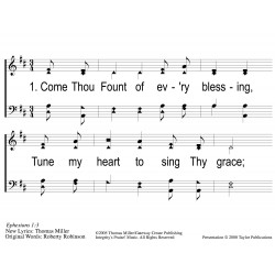 Come Thou Fount-Come Thou King PPT
