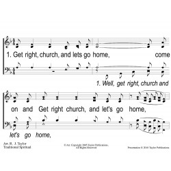 Get Right Church PPT