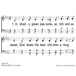 God Leads Us Along-PPT Slides