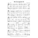 His Grace Reaches Me-4 part-PDF Song Sheet