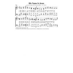 His Name is Jesus - PDF Song Sheet