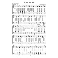 If You Mis Me - PDF Song Sheet
