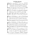 I'll Walk With Jesus - PDF - Song Sheet