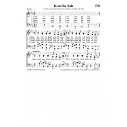 Kum Ba Yah-Rain, Storm, Fire PDF Song Sheet