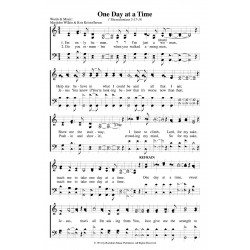 One Day at a Time-PDF Song Sheets