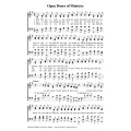 Open Doors of Ministry-PDF Song Sheets