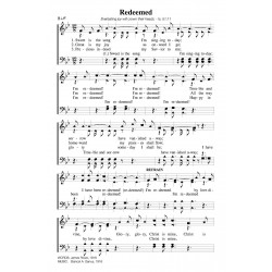 Redeemed-Sweet is the Song- PDF Song Sheet