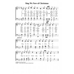 Sing We Now of Christmas-PDF Song Sheet