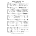 Sing Me a Song About Jesus-PDF Song Sheet