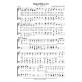 Sing of His Love - PDF Song Sheet
