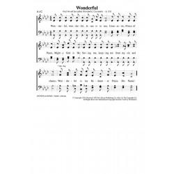 Wonderful - PDF Song Sheet
