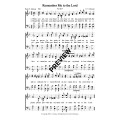 Remember Me to the lord-PDF Sheet Music
