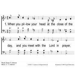 Remember Me to the Lord-PPT Slides
