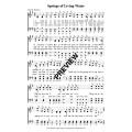 Springs of Living Water-PDF Sheet Music