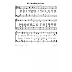 The Breaking of Bread-PDF Song Sheet