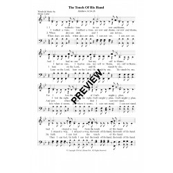 The Touch of His Hand - PDF Sheet Music