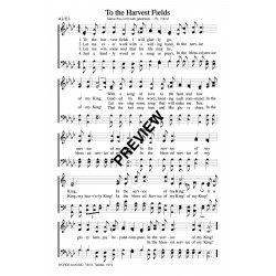 To the Harvest Fields - PDF Sheet Music