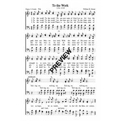 To the Work-PDF Sheet Music