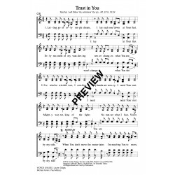 Trust In You - PDF Sheet Music