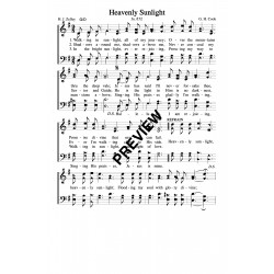 Heavenly Sunlight-PDF Sheet Music