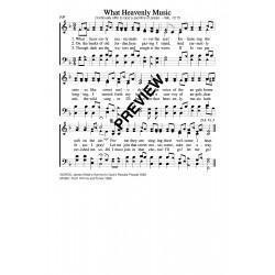What Heavenly Music-PDF Sheet Music