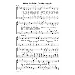 When the Saints Go Marching In-PDF Song Sheet