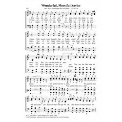 Wonderful Merciful Savior - PDF Song Sheet