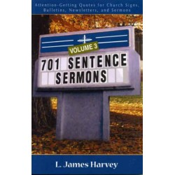 701 Sentence Sermons #3 book