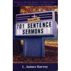 701 Sentence Sermons #4 book