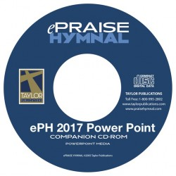 ePraise Hymnal 2017 Power Point- SB Shape Book-CD set