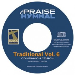 ePraise Hymn Traditional, Vol. 6