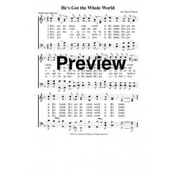 He's Got the Whole World-pdf song sheet