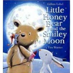 Little Honey Bear Smiley Moon