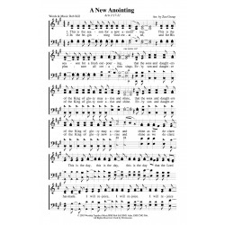A New Anointing PDF Song Sheet