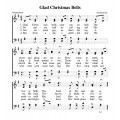 Glad Christmas Bells-PDF Song Sheet