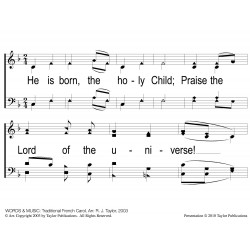 He Is Born - PPT