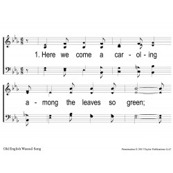 Here We Come a-caroling-PPT