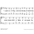 Lead on O King Eternal - Methodist - PPT - slides