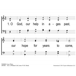 O God Our Help in Ages Past - Methodist-PPT