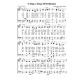 O Sing a Song of Bethlehem-PDF Song Sheet