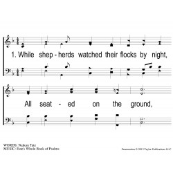 While Shepherds Watch-PPT