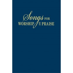 Songs For Worship And Praise Bonded Leather Blue