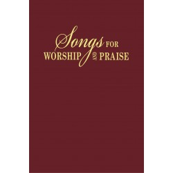 Songs For Worship And Praise Bonded Leather Maroon